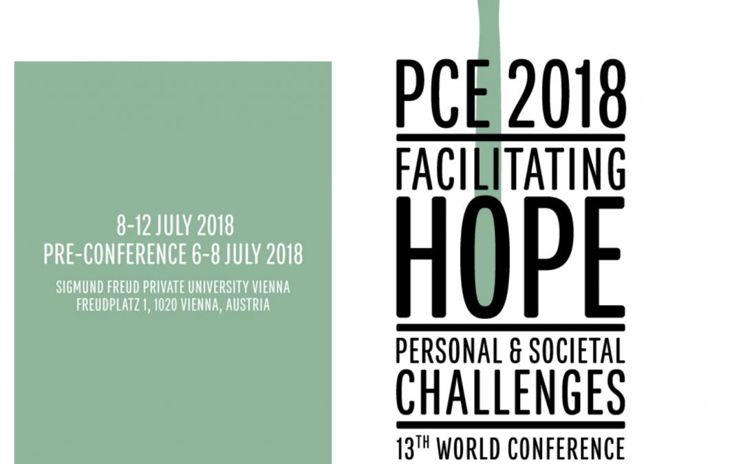 PCE2018 Weltkongress in Wien!